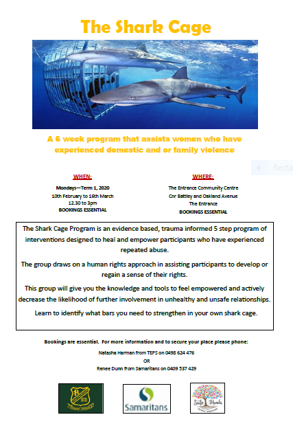 Shark Cage Flyer